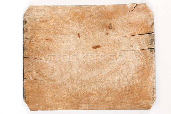 old wooden board with cracks Stock photo © caimacanul