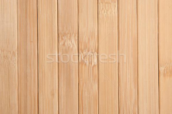 Bamboe houtstructuur textuur bouw abstract natuur Stockfoto © caimacanul