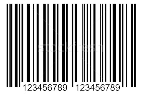 bar code label Stock photo © caimacanul