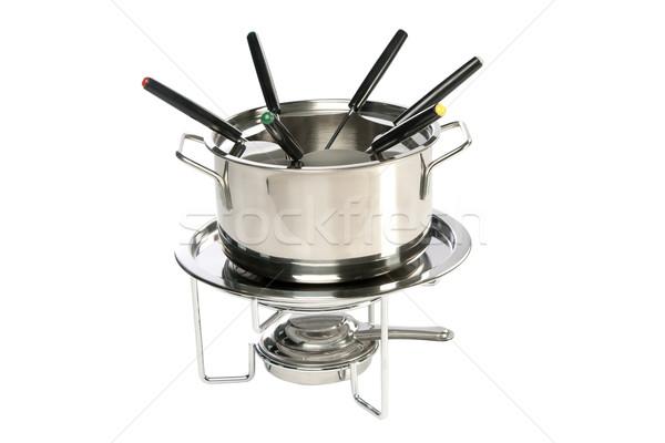 fondue set Stock photo © caimacanul