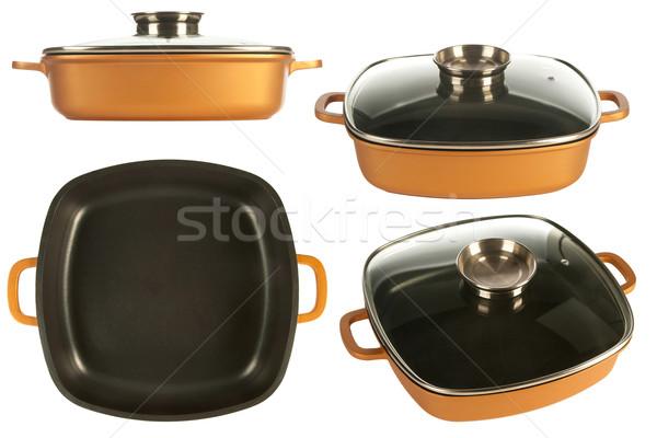 cookware, nonstick pan Stock photo © caimacanul