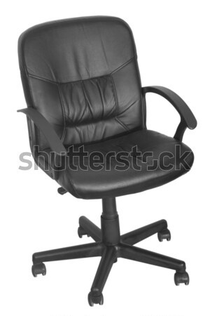 black office chair with wheels Stock photo © caimacanul