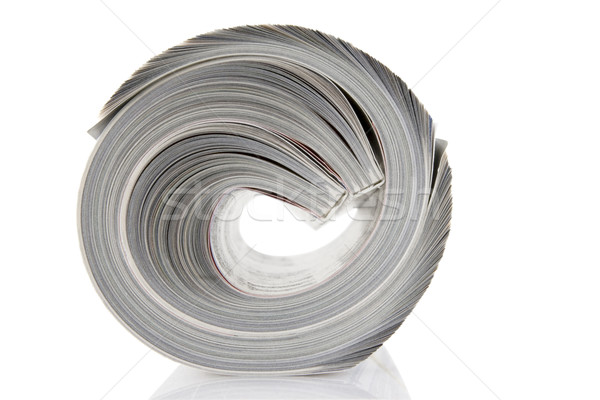 Magazine Roll isolated on white  Stock photo © caimacanul