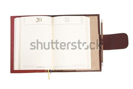 open notebook Stock photo © caimacanul