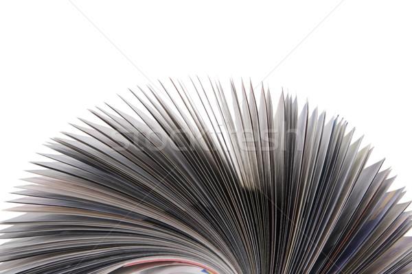 Magazine rollen geïsoleerd witte Stockfoto © caimacanul