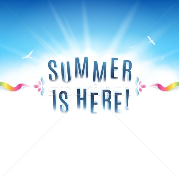 Summer Background Stock photo © cajoer