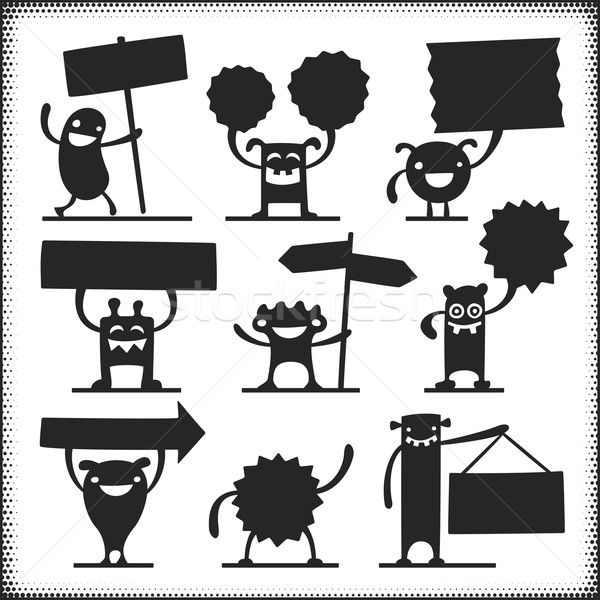 Vector Characters Stock photo © cajoer
