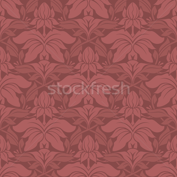 Seamless Floral Vector Pattern Stock photo © cajoer