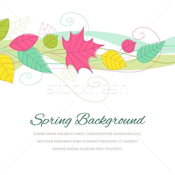 Spring Background Stock photo © cajoer