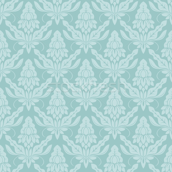 Senza soluzione di continuità modello di fiore vettore wallpaper pattern fiori Foto d'archivio © cajoer