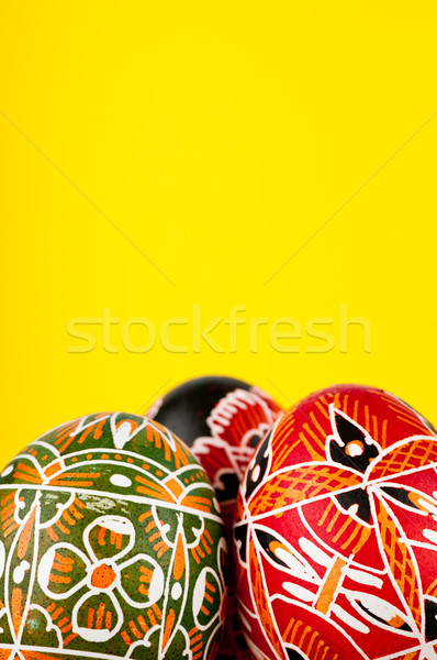 Stock photo: The eggs