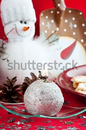 Snowman Stock photo © Calek
