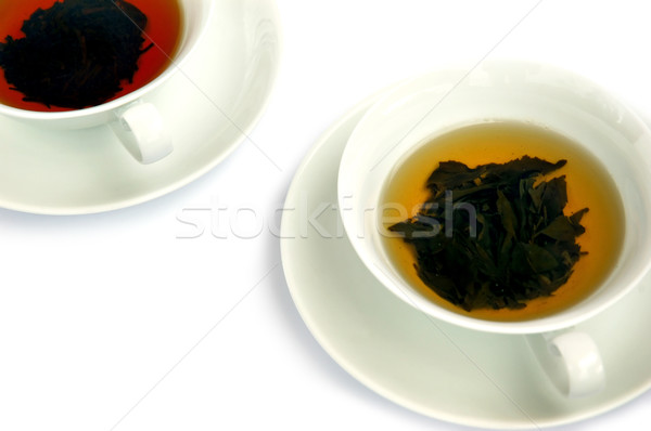Black and green tea Stock photo © Calek
