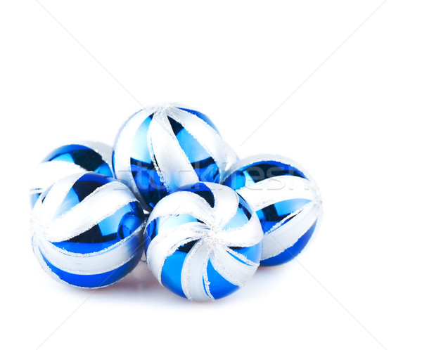 Navidad color blanco diseno vidrio Foto stock © Calek