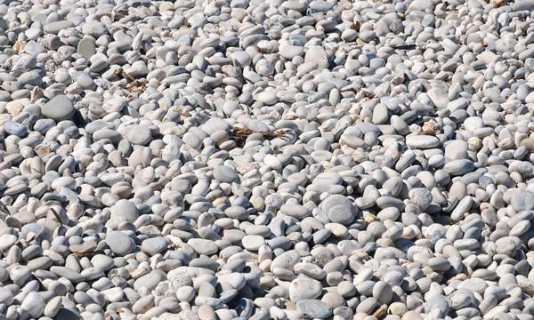 Foto d'archivio: Ciottoli · bianco · ciottolo · spiaggia · isola · sfondo