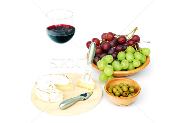 сыра оливками продовольствие вечеринка кухне Сток-фото © Calek