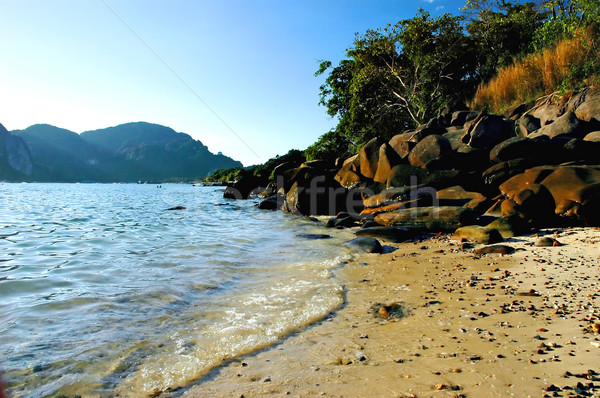 Phi Phi beach Stock photo © Calek
