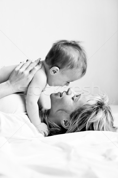 Boy and mother 6 Stock photo © Calek