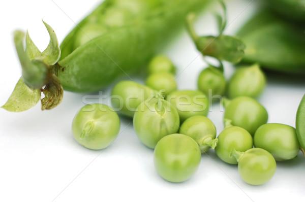 Erwten witte natuur markt plant groenten Stockfoto © Calek