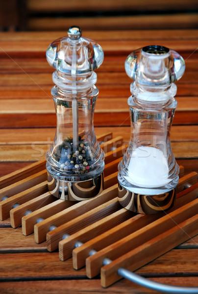 Salt and papper Stock photo © Calek