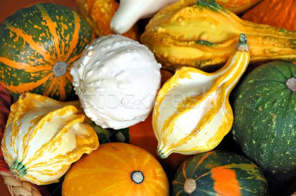 Osier panier décoratif texture nature Photo stock © Calek