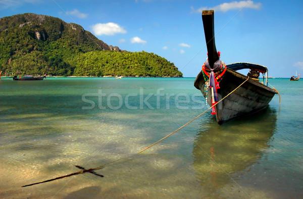 Boat Stock photo © Calek
