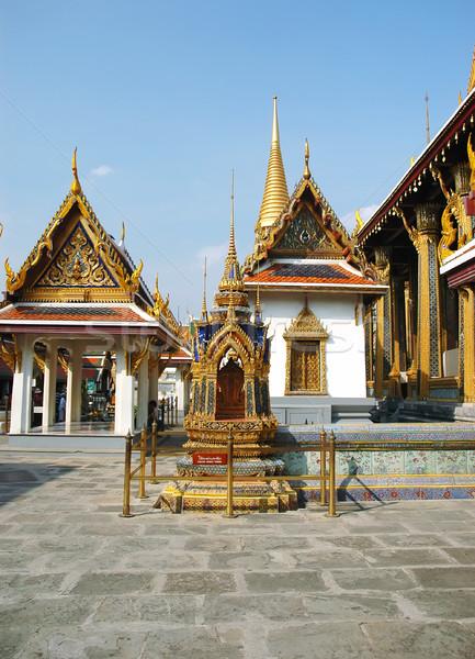 Saray Bangkok Tayland Asya Bina ibadet Stok fotoğraf © Calek
