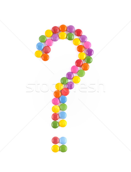 Question mark Stock photo © Calek