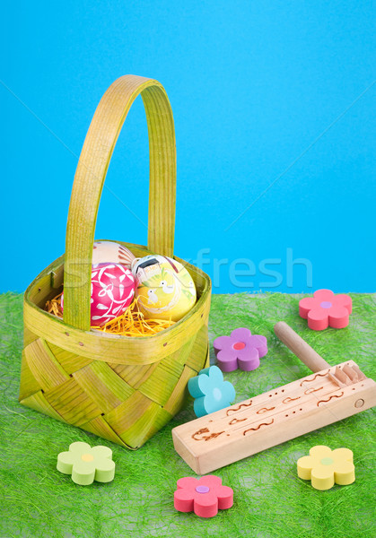 Easter still life Stock photo © Calek