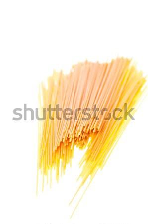 высушите спагетти белый итальянский пасты яйцо Сток-фото © calvste