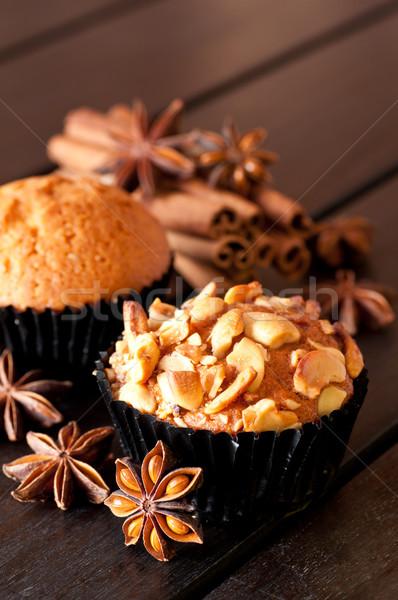 Stok fotoğraf: Kaşu · somun · çörek · baharatlar · kahvaltı