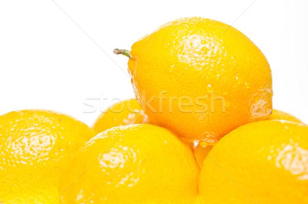 лимоны Extreme шесть изолированный Сток-фото © calvste