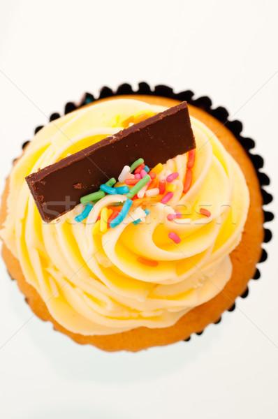 Vaniglia top view colorato alimentare Foto d'archivio © calvste