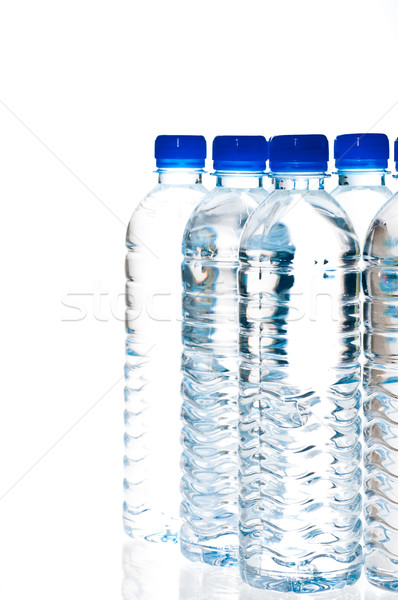 Water bottles isolated on white Stock photo © calvste