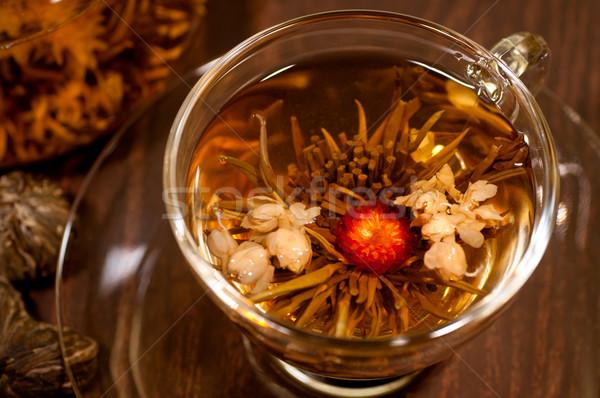 Stok fotoğraf: çay · kırmızı · fincan