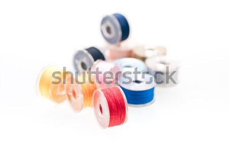 Fio colorido mão trabalhar Foto stock © calvste