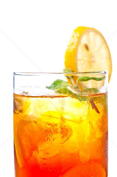 льда лимона чай свежие Cool Сток-фото © calvste