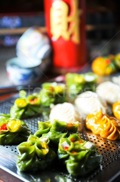 Assorted dim sum Stock photo © calvste