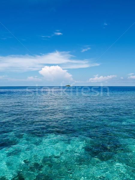 Ilha oceano um muitos Maldivas Foto stock © calvste