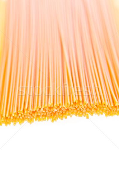 Italiana pasta bianco asciugare uovo sfondo Foto d'archivio © calvste