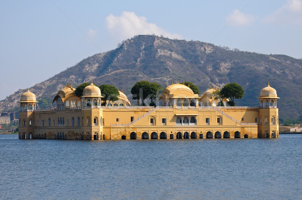 The Jal Mahal Water Palace Stock photo © calvste