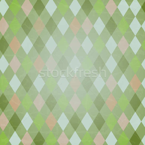 Vintage Harlequin Background Stock photo © cammep