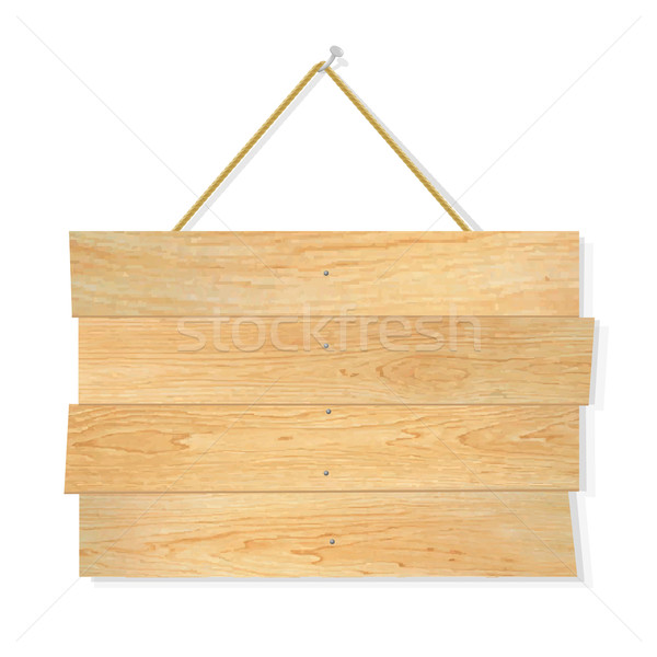 Wooden Board Stock photo © cammep
