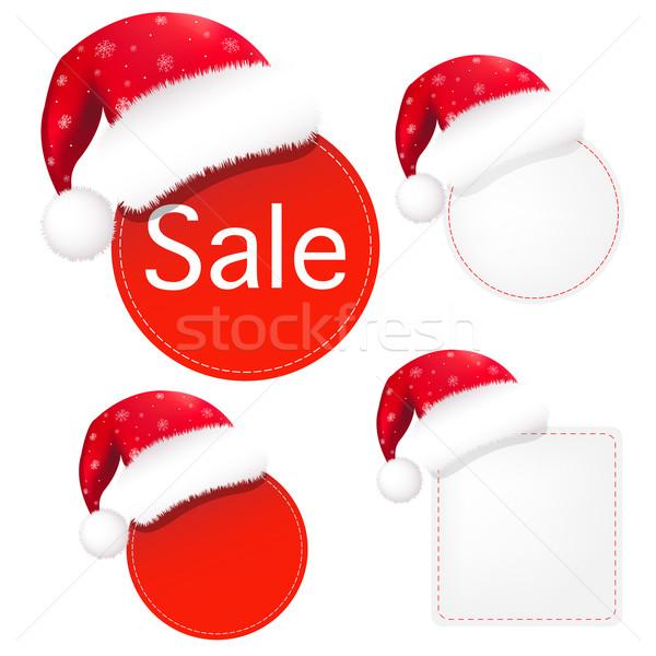 Christmas Banners Set Stock photo © cammep