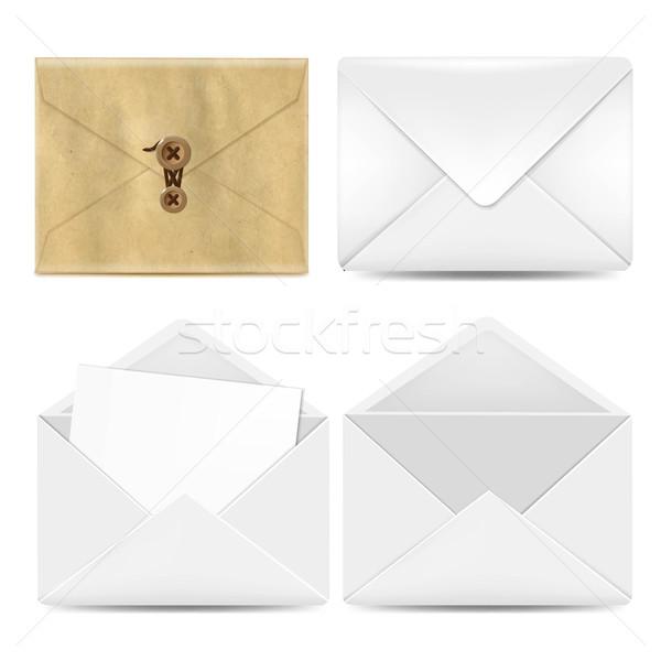 Envelope Big Set Stock photo © cammep