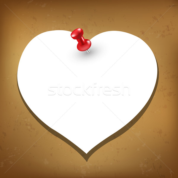 Heart Blank Gift Tag Stock photo © cammep