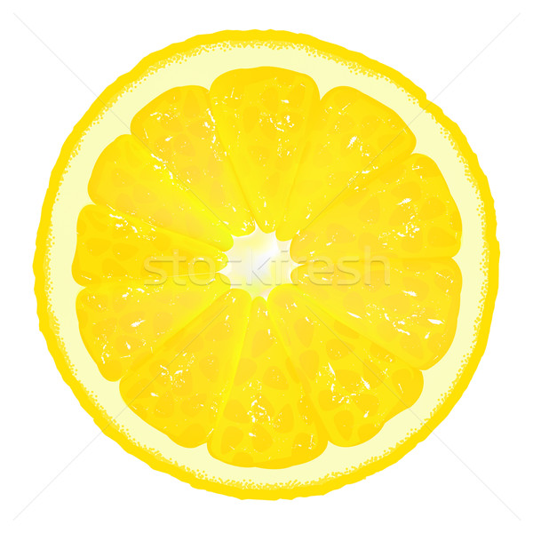 Lemon Segment With Juice Stock photo © cammep