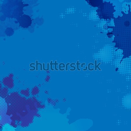 Blue Blob Background Stock photo © cammep
