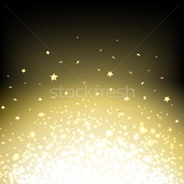 Negro resumen oscuro estrellas textura wallpaper Foto stock © cammep