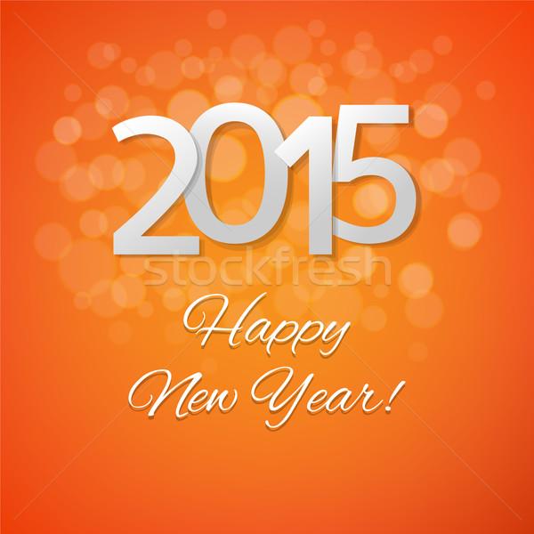 Happy New Year Orange 81